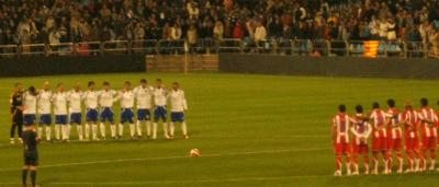 Ayer por fin se vio fútbol en la Romareda