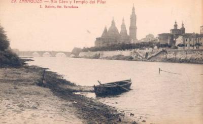 El Ebro, la lluvia y el sol